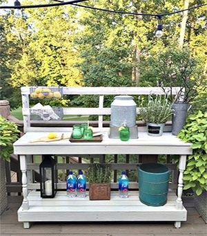 Astonishing 10 Best Outdoor Potting Benches For Your Garden Ibusinesslaw Wood Chair Design Ideas Ibusinesslaworg